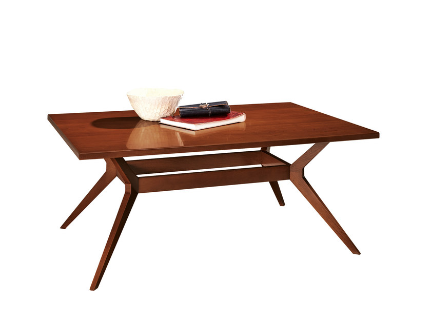 Wooden coffee table for living room GRACE | Coffee table for living room - SELVA