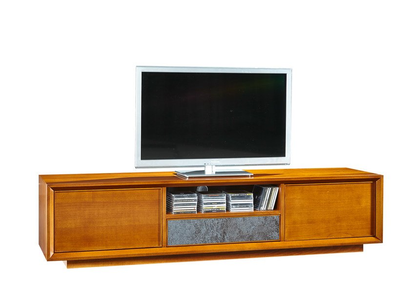 Wooden TV cabinet GRACE | TV cabinet by SELVA