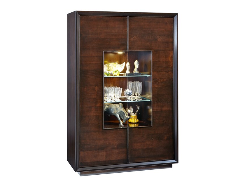 Wooden bar cabinet GRACE | Bar cabinet by SELVA