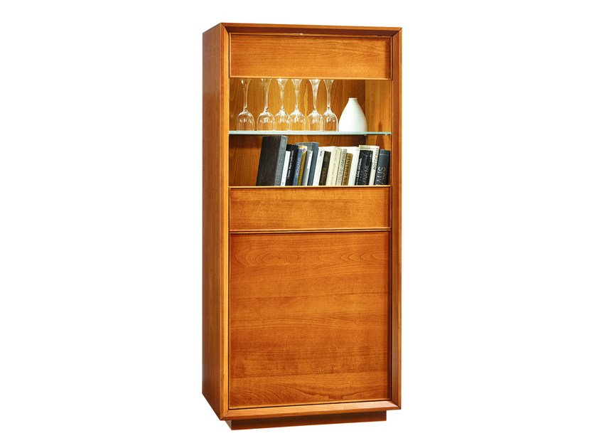 Wooden display cabinet GRACE | Display cabinet - SELVA
