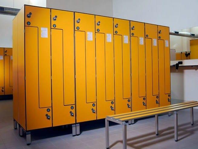 L-door Locker L-door locker by GES Group