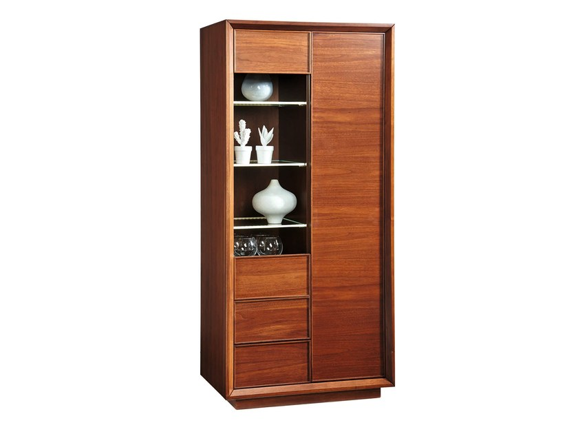 Wooden display cabinet LEONARDO | Display cabinet by SELVA