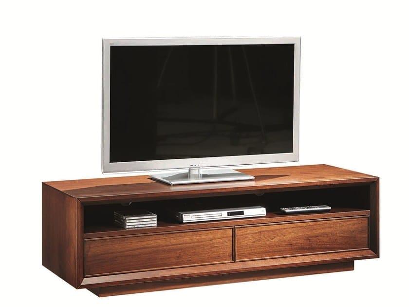 Wooden TV cabinet LEONARDO | TV cabinet - SELVA