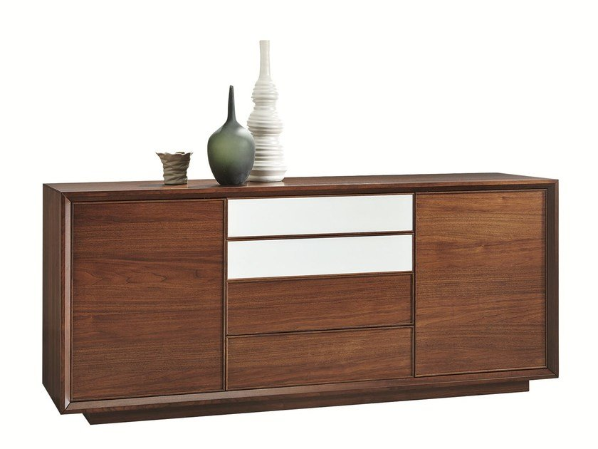 Wooden sideboard with drawers LEONARDO | Sideboard with drawers - SELVA