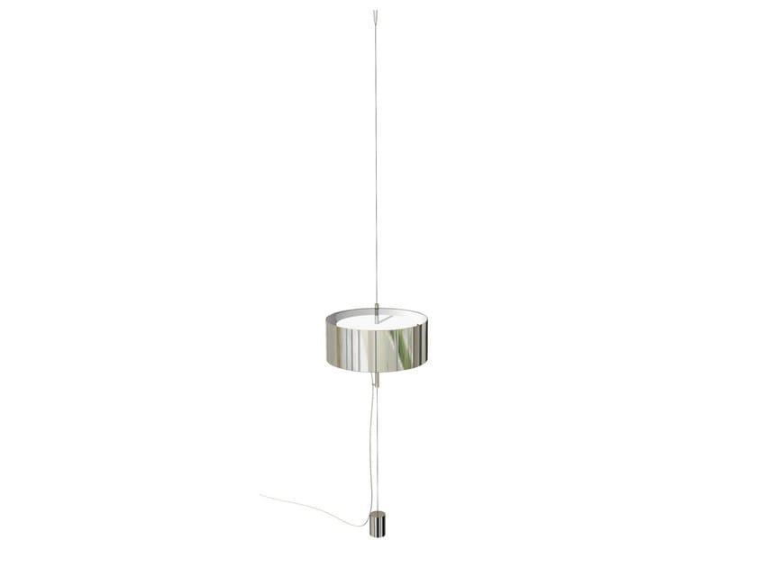 Adjustable aluminium pendant lamp X | Adjustable pendant lamp - Marzais Créations