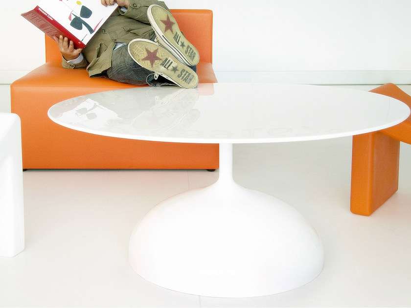 Low round coffee table SISTER NO | Coffee table by Marzais Créations