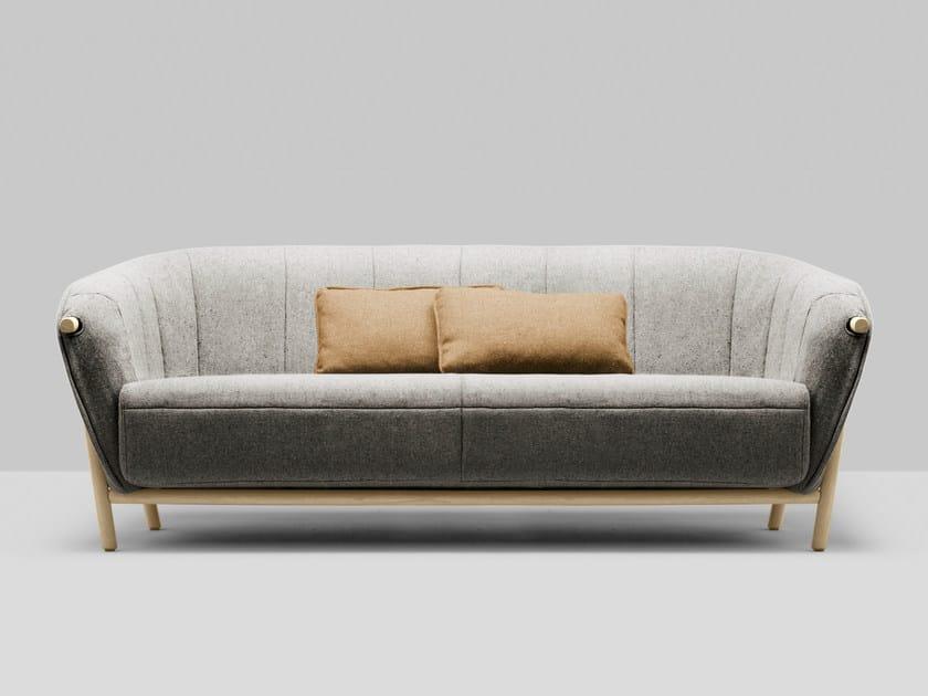 3 seater fabric sofa YAS | 3 seater sofa - Bosc