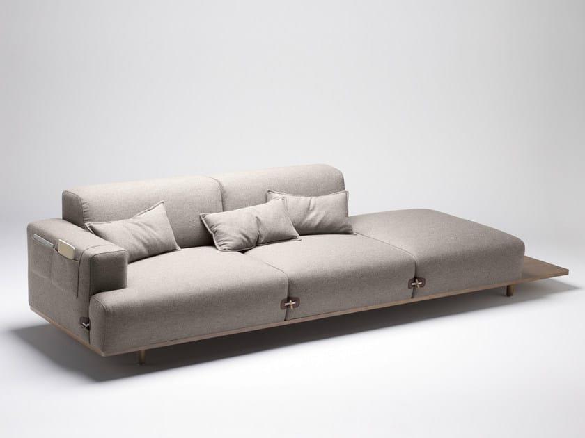 Sectional fabric sofa DUFFLE | Sectional sofa - Bosc