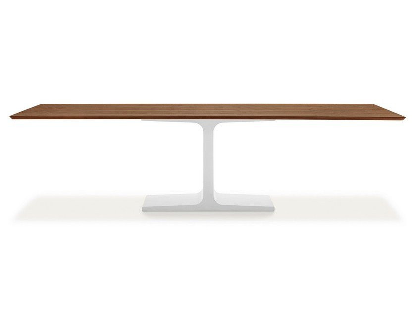 Rectangular wooden dining table PALACE WOOD - SOVET ITALIA