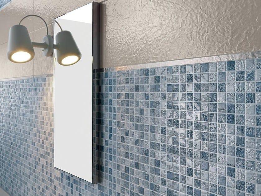 White-paste mosaic EMPREINTE Azur by Impronta Ceramiche