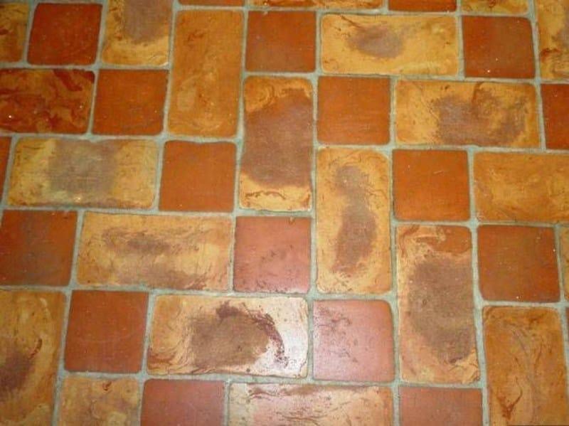 Quarry flooring PAVIMENTO TAVELLA SFUMATA - FORNACE FONTI