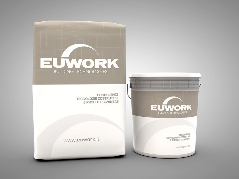 Screed and base layer for flooring KEYTHERMO FLOOR 160 by Euwork