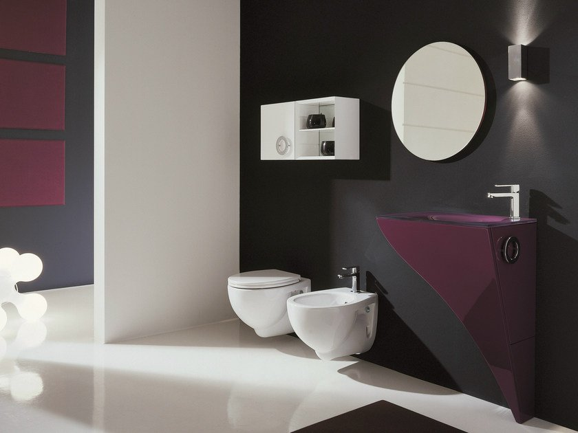 Bathroom furniture set HAPPY - COMPOSITION H03 - NOVELLO