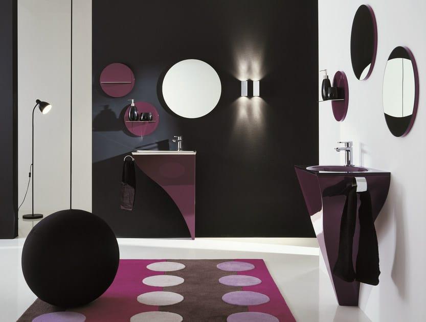 Bathroom furniture set HAPPY - COMPOSITION H01 - NOVELLO