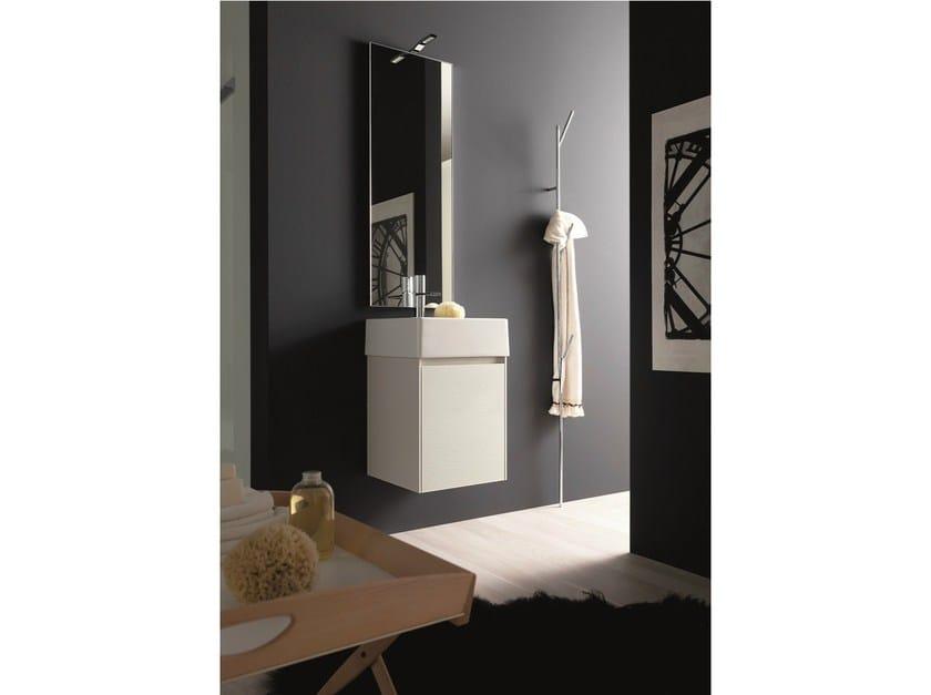 Arredo bagno completo in hpl light 45 composizione g06a novello - Novello mobili bagno ...