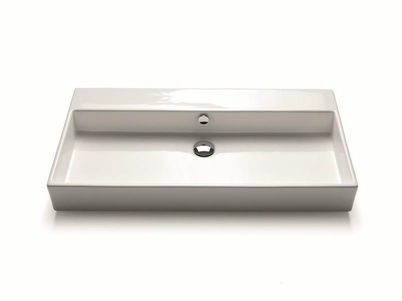 light 45 lavabo double by novello. Black Bedroom Furniture Sets. Home Design Ideas