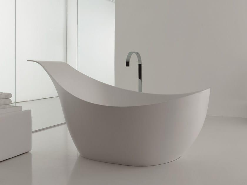 Cristalplant® bathtub LOVE - NOVELLO