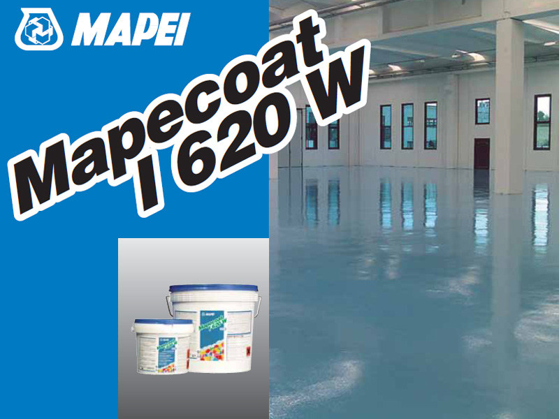 Flooring protection MAPECOAT I 620 W - MAPEI
