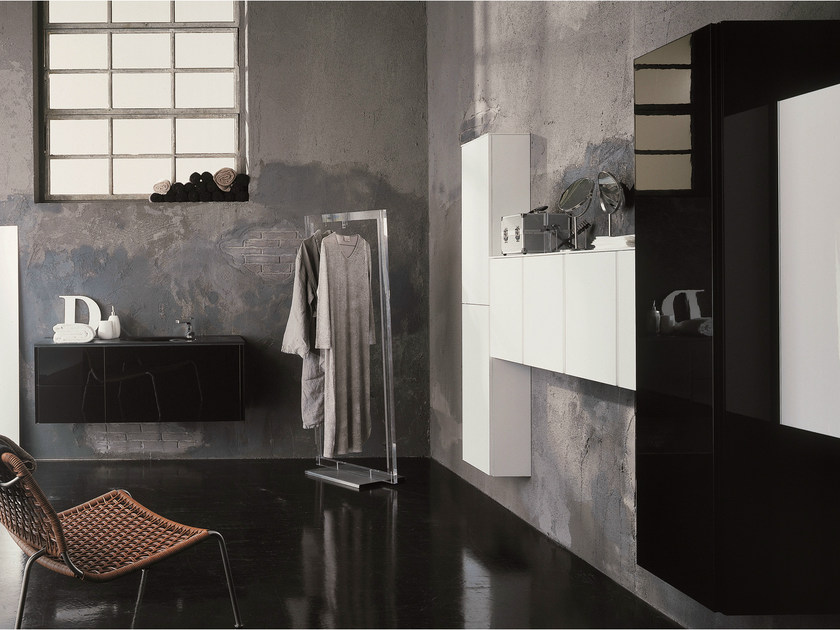 Bathroom furniture set MAX - COMPOSITION X02C - NOVELLO