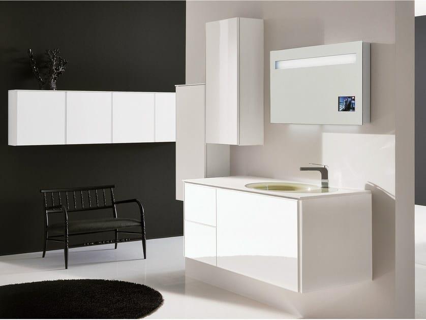 Bathroom furniture set MAX - COMPOSITION X02B - NOVELLO