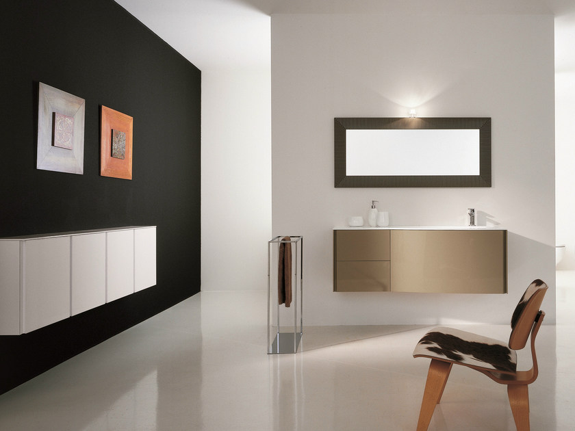 Bathroom furniture set MAX - COMPOSITION X04 - NOVELLO