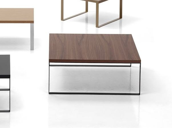 Square wooden coffee table ÁVALON | Square coffee table by Inclass Mobles