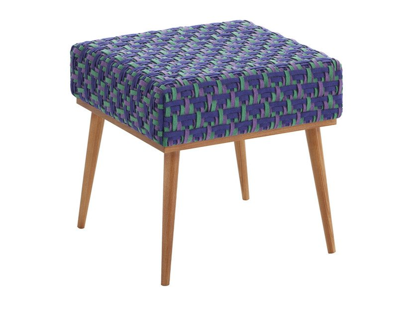 Upholstered stool DETROIT | Stool - GAN By Gandia Blasco