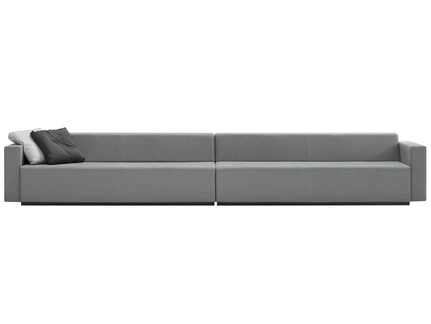 Sectional fabric sofa PAU | Sectional sofa - Inclass Mobles