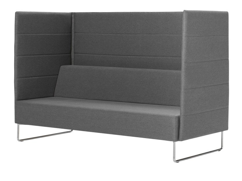 High-back fabric sofa TETRIS | High-back sofa - Inclass Mobles