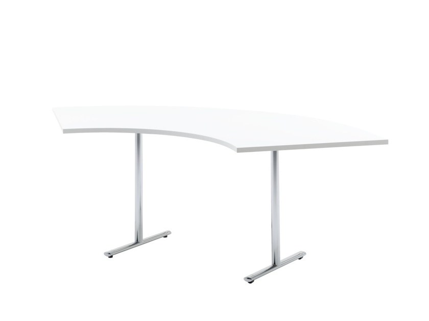 Contemporary style custom contract table TEMPEST | Office desk with flip-top - HOWE
