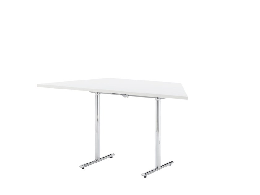 Contemporary style custom contract table TEMPEST | Office desk with flip-top by Howe