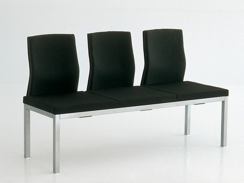 Bench seating with back CM HOSPITALITY | Bench seating with back - FANTONI