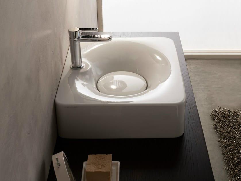 Ceramic washbasin FUJI | Ceramic washbasin - Scarabeo Ceramiche