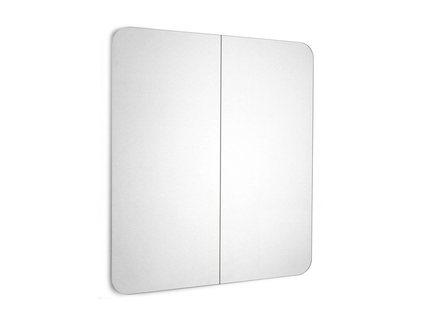 Rectangular wall-mounted bathroom mirror FUJI | Rectangular mirror - Scarabeo Ceramiche