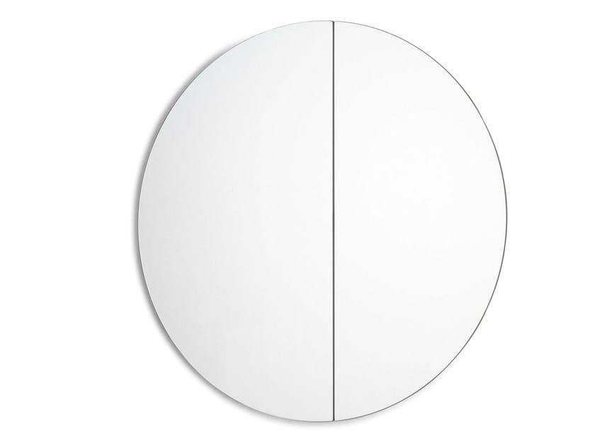 Round wall-mounted bathroom mirror FUJI | Round mirror - Scarabeo Ceramiche