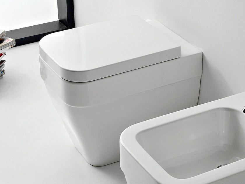 Ceramic toilet NEXT | Toilet by Scarabeo Ceramiche