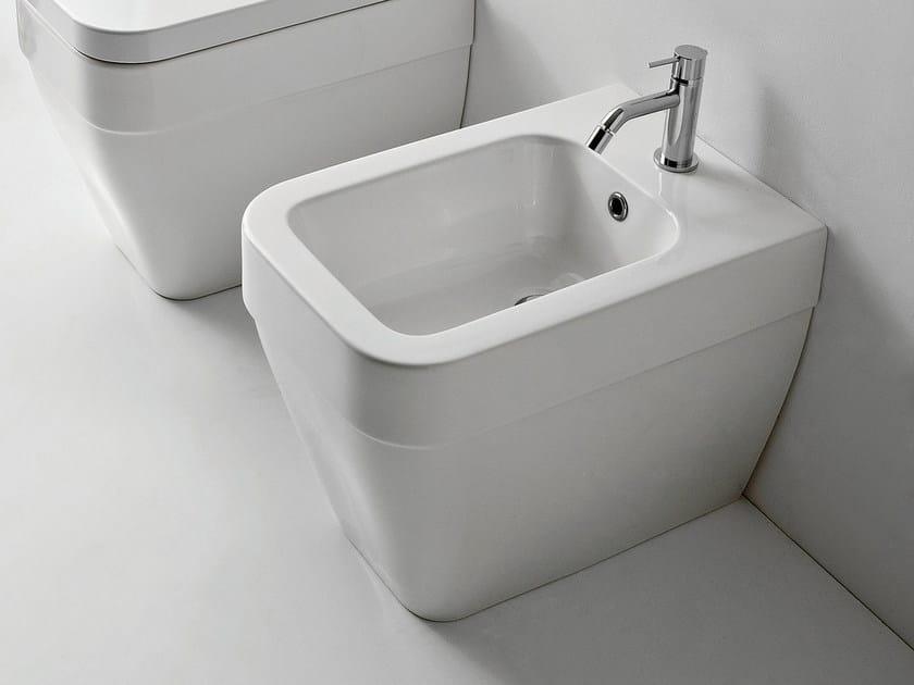 Ceramic bidet NEXT | Bidet by Scarabeo Ceramiche