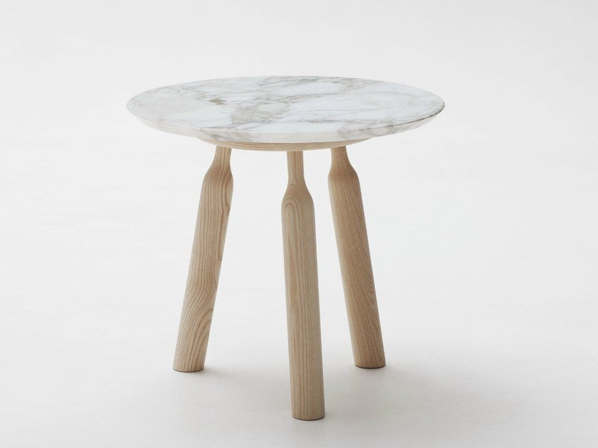 Round marble coffee table NINNA | Coffee table by Adentro