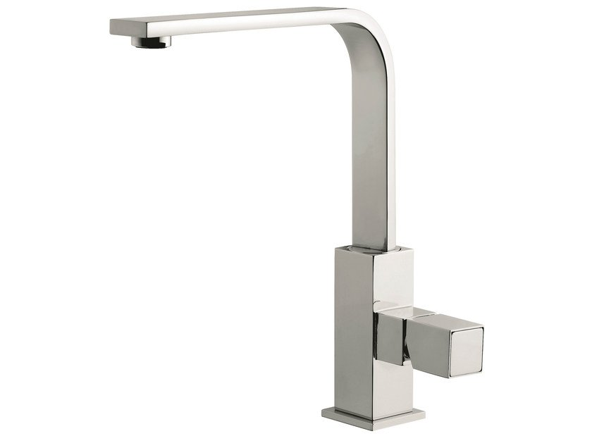 Countertop 1 hole kitchen mixer tap with swivel spout 26007 | Kitchen mixer tap - EMMEVI RUBINETTERIE