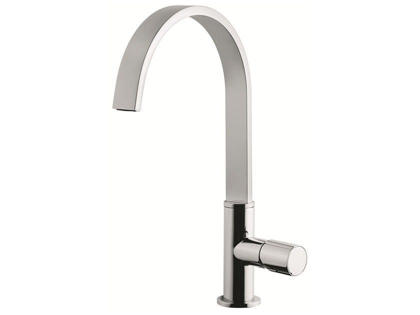 1 hole kitchen mixer tap with swivel spout 83007LA | Kitchen mixer tap - EMMEVI RUBINETTERIE