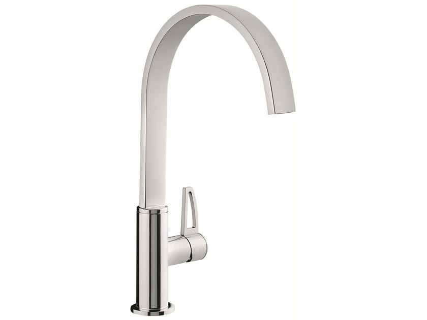 1 hole kitchen mixer tap with swivel spout 83007LA | Kitchen mixer tap - EMMEVI RUBINETTERIE