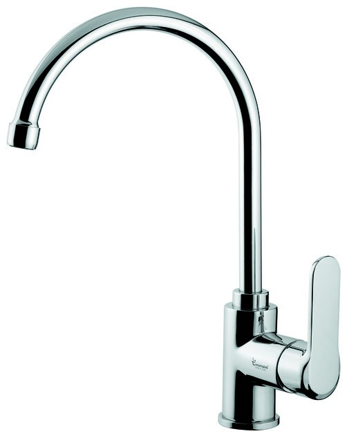 Countertop kitchen mixer tap with swivel spout 77077 | Kitchen mixer tap - EMMEVI RUBINETTERIE