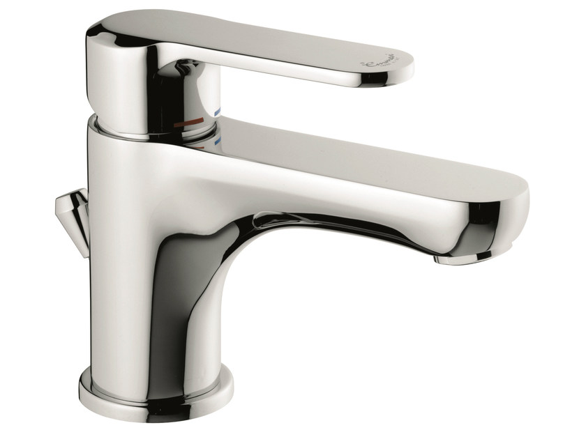 Countertop washbasin mixer with automatic pop-up waste 77033 | Washbasin mixer - EMMEVI RUBINETTERIE