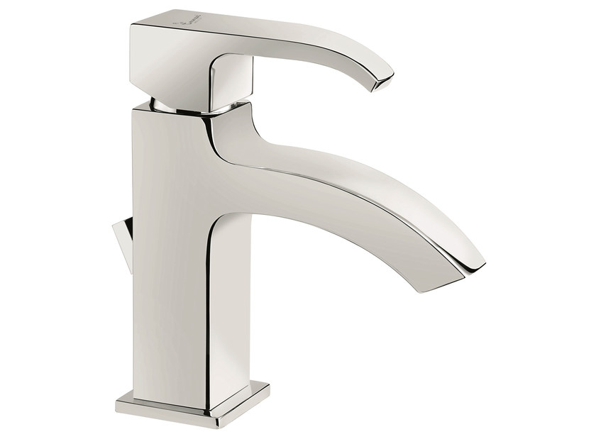 Countertop washbasin mixer with automatic pop-up waste 74003 | Washbasin mixer - EMMEVI RUBINETTERIE