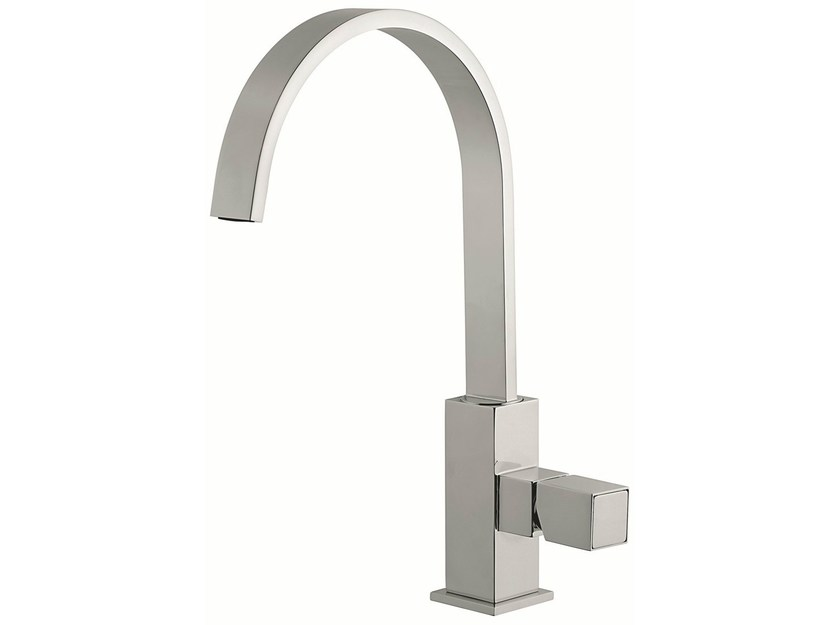 Countertop kitchen mixer tap with swivel spout 47007 | Kitchen mixer tap - EMMEVI RUBINETTERIE