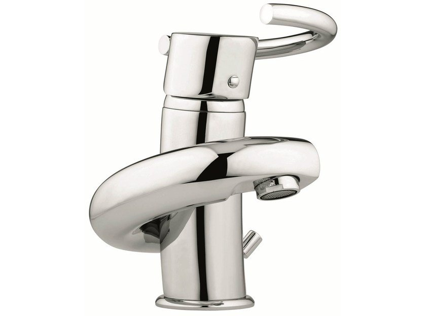 Countertop washbasin mixer with automatic pop-up waste 6603   Washbasin mixer - EMMEVI RUBINETTERIE