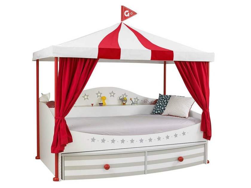 Storage bed for kids' bedroom PICCADILLY | Bed - GAUTIER FRANCE