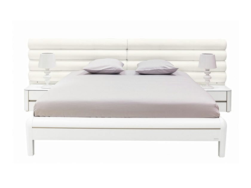 Leather double bed PREMIUM | Bed - GAUTIER FRANCE