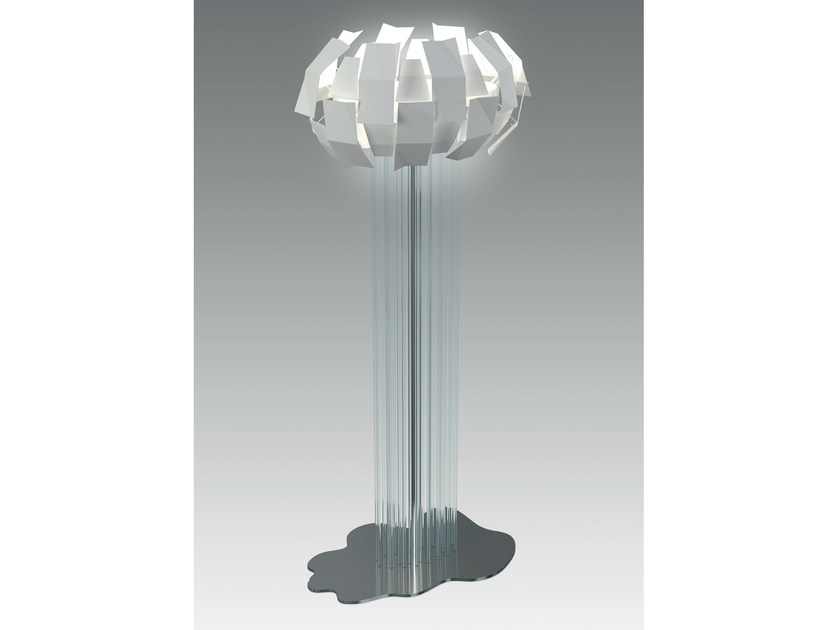 LED floor lamp LUCE A CATINELLE | Floor lamp - Olev by CLM Illuminazione