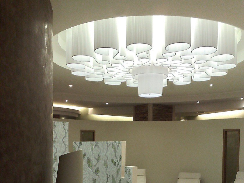 LED ceiling light NAPITIA - Olev by CLM Illuminazione